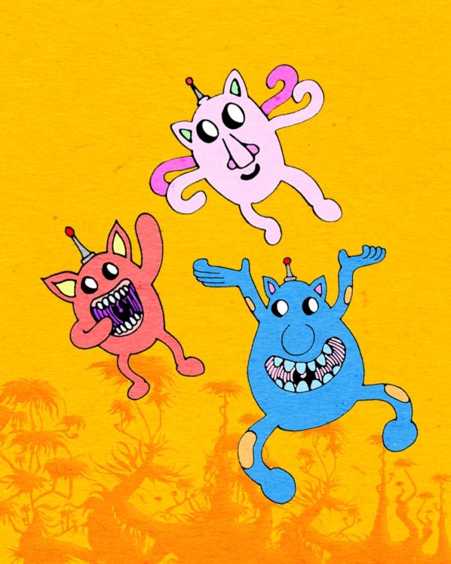 Unhola characters (2014)