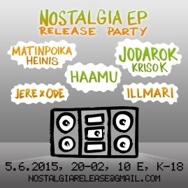 Nostalgia EP Release Party (2015)