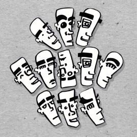 Matinpoika stickers (2014)