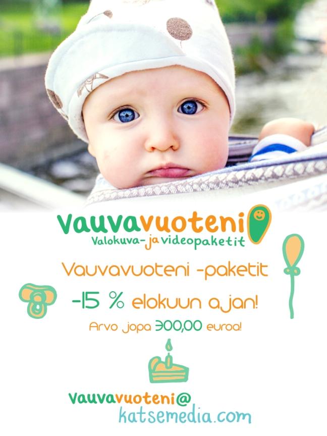 Vauvavuoteni elokuun tarjous